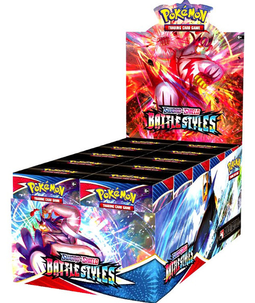 Pokemon Trading Card Game Sword & Shield Battle Styles Build & Battle DISPLAY Box [10 Units] (Pre-Order ships March)