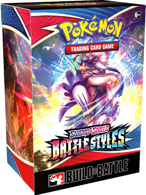 Pokemon Trading Card Game Sword & Shield Battle Styles Build & Battle Box [4 Booster Packs & Promo Card!] (Pre-Order ships January)
