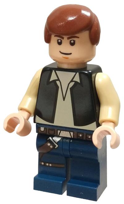 LEGO Star Wars Han Solo Minifigure [Black Vest Loose]