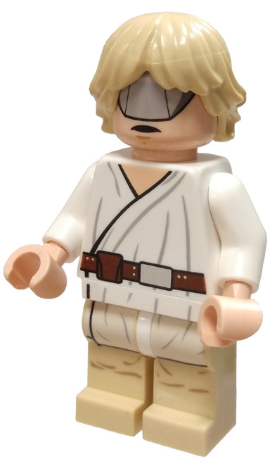 LEGO Star Wars Luke Skywalker Minifigure [Tatooine, Visor Loose]