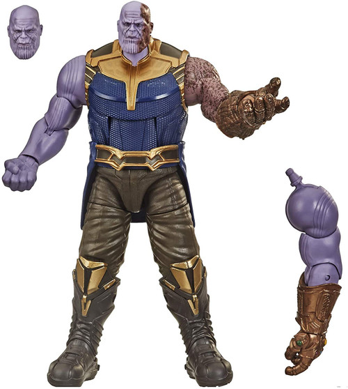 Avengers Infinity War Marvel Legends Thanos Action Figure [Children of Thanos Loose]