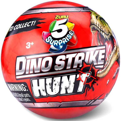 5 Surprise Dino Strike Series 3 Hunt Mystery Pack