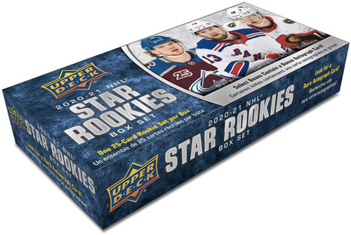 NHL 2020-21 Rookies Hockey Trading Card Box Set [25 Cards!] (Pre-Order ships March)