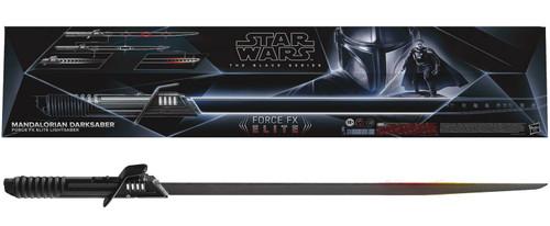 Star Wars The Mandalorian Black Series Darksaber Force FX Elite Electronic Lightsaber (Pre-Order ships June)