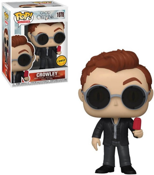 Funko Good Omens POP! TV Crowley Vinyl Figure [with Popsicle, Chase Version] (Pre-Order ships March)