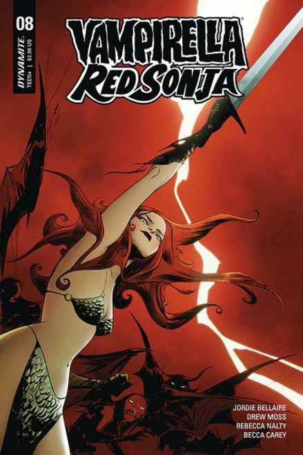 Dynamite Entertainment Vampirella / Red Sonja #8A Comic Book