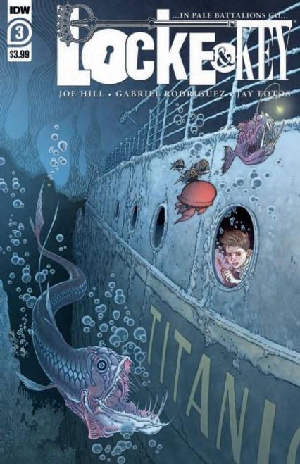 IDW Publishing Locke & Key: In Pale Battalions Go #3A Comic Book