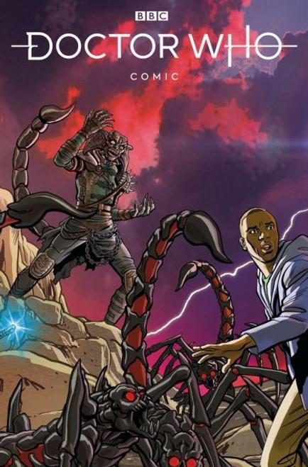 Titan Books Doctor Who Comic #2C Comic Book