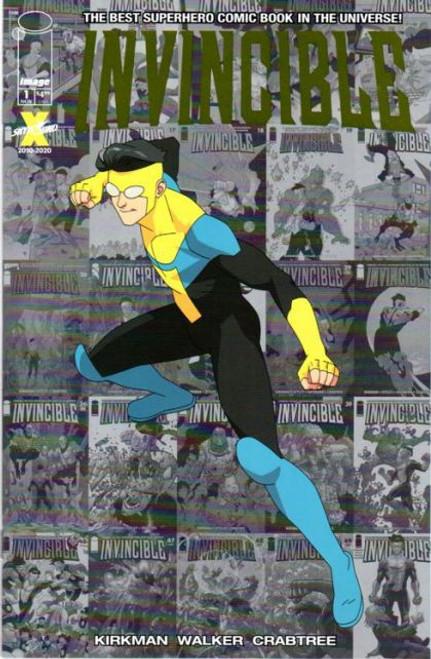 Image Comics Invincible #1 Comic Book [Local Comic Shop Day 2020 Foil Variant]
