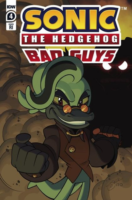 IDW Publishing Sonic The Hedgehog: Bad Guys #4 Comic Book [Incentive Variant]