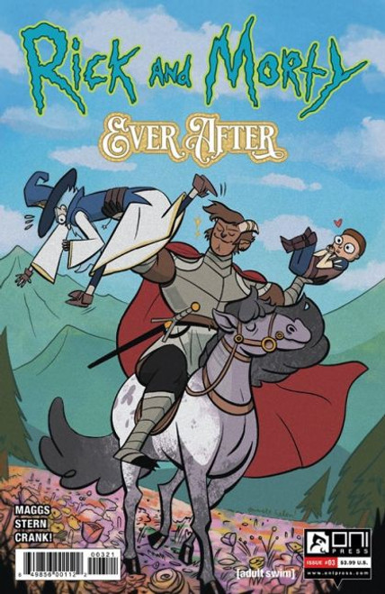 Oni Press Rick and Morty: Ever After #3B Comic Book