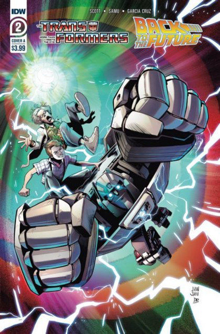 IDW Publishing The Transformers / Back To The Future #2A Comic Book