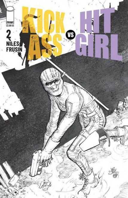 Image Comics Kick-Ass vs Hit-Girl #2B Comic Book