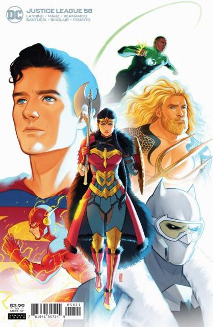 DC Comics Justice League, Vol. 3 #58B Comic Book [Endless Winter]