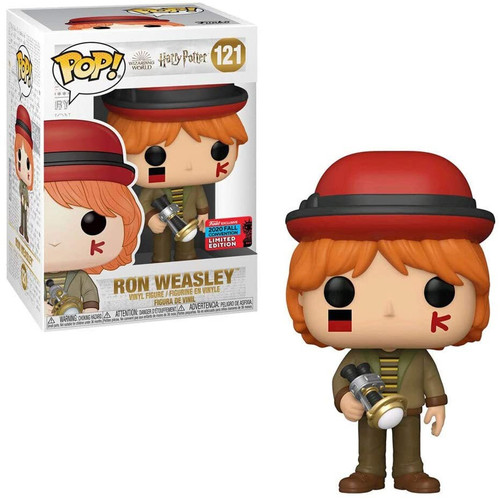 Funko Harry Potter POP! Movies Ron Weasley Exclusive Vinyl Figure #121 [World Cup]