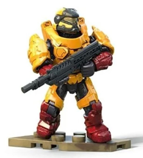 Halo Infinite Series 2 Yellow Spartan Common Minifigure [Loose]