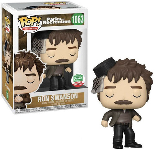 Funko Parks & Recreation POP! TV Ron Swanson Exclusive Vinyl Figure #1063 [Snake Juice]