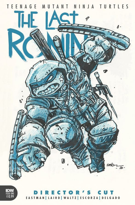 IDW Teenage Mutant Ninja Turtles #1 Director's Cut Last Ronin Comic Book