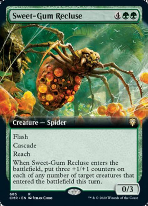 MtG Commander Legends Rare Sweet-Gum Recluse #685 [Extended Art]