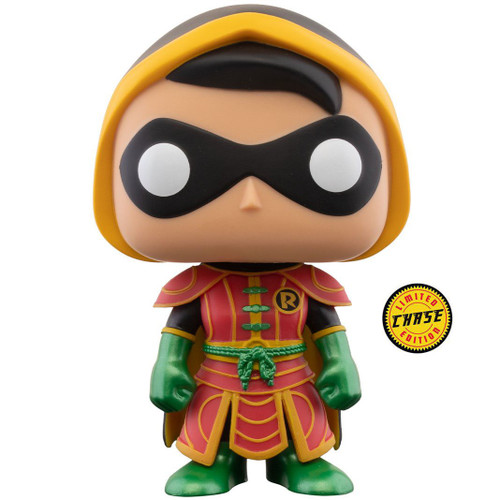 Funko DC Imperial Palace POP! Robin #377 [with Cowl, Chase Version] (Pre-Order ships February)