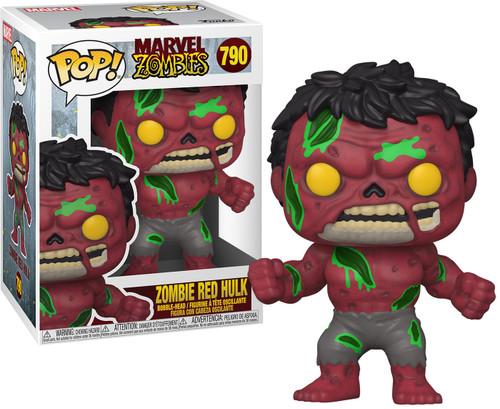 Funko Marvel Zombies POP! Marvel Red Hulk Vinyl Figure #790