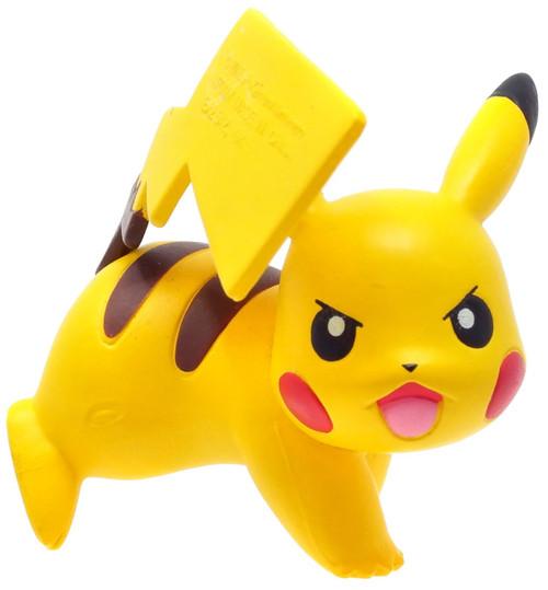 Pokemon Pikachu Figure [Attacking,Tomy, Loose]