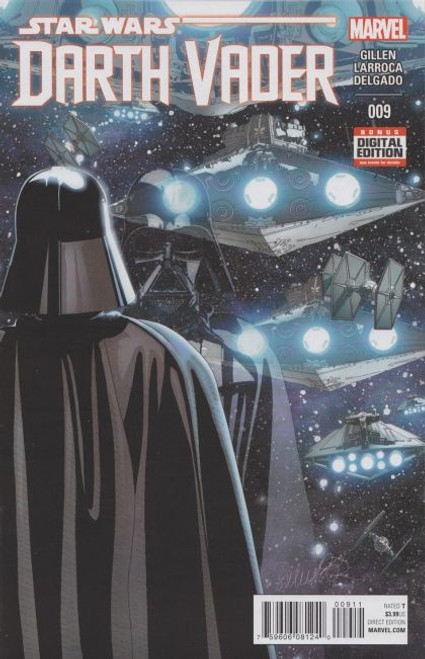 Marvel Star Wars: Darth Vader, Vol. 1 #9A Comic Book