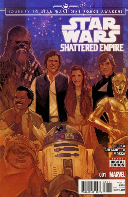 Marvel Journey to Star Wars: The Force Awakens - Shattered Empire #1A Comic Book