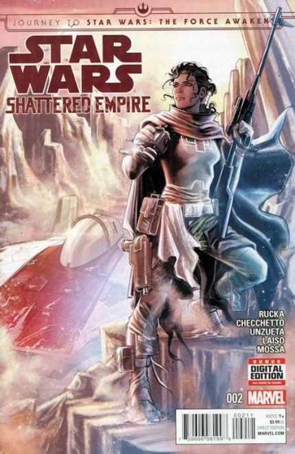 Marvel Journey to Star Wars: The Force Awakens - Shattered Empire #2A Comic Book