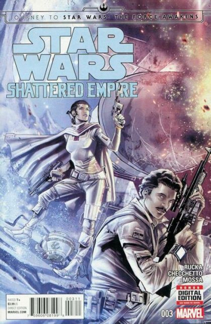 Marvel Journey to Star Wars: The Force Awakens - Shattered Empire #3A Comic Book