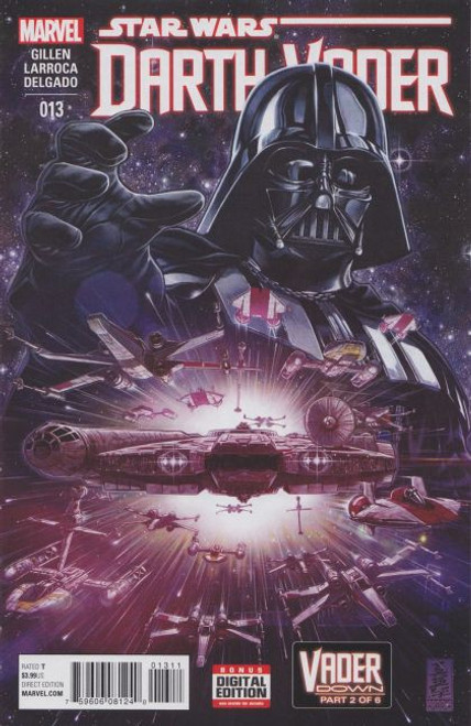 Marvel Star Wars: Darth Vader, Vol. 1 #13A Comic Book