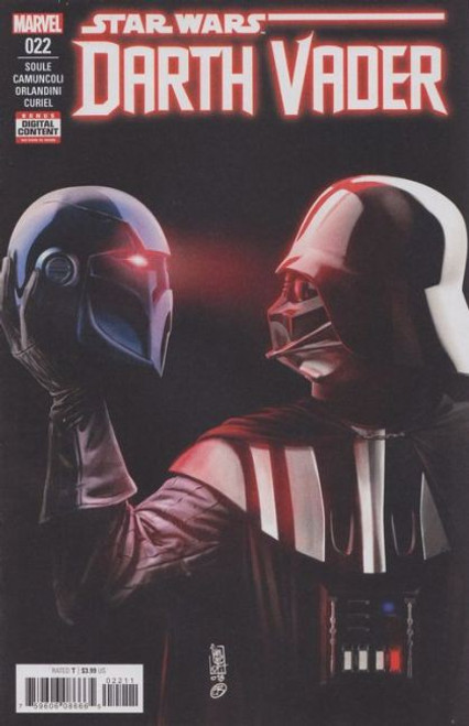 Marvel Star Wars: Darth Vader, Vol. 2 #22A Comic Book [First Lord Momin & Lady Shaa]