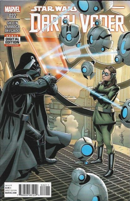 Marvel Star Wars: Darth Vader, Vol. 1 #22A Comic Book