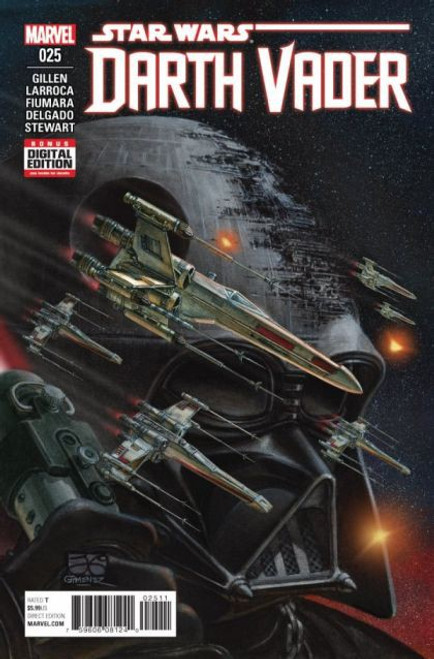 Marvel Star Wars: Darth Vader, Vol. 1 #25A Comic Book