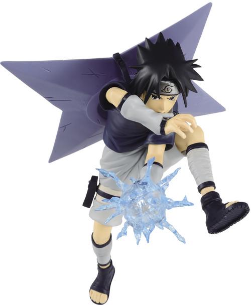 Naruto Shippuden Vibration Stars Uchiha Sasuke 7.1-Inch Collectible PVC Figure [Rasengan] (Pre-Order ships June)