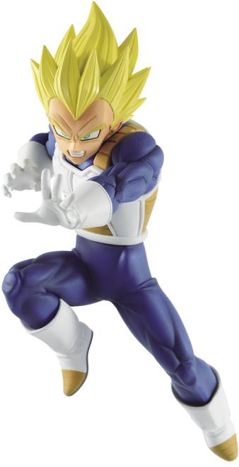 Dragon Ball Super Chosenshiretsuden II Super Saiyan Vegeta 5.5-Inch Collectible PVC Figure [Vol. 5] (Pre-Order ships July)