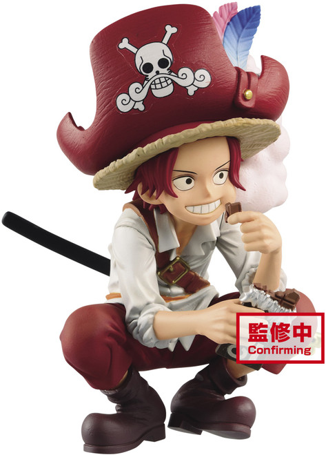 One Piece DXF Grandline Children Shanks 6.7-Inch Collectible PVC Figure [Wanokuni] (Pre-Order ships June)