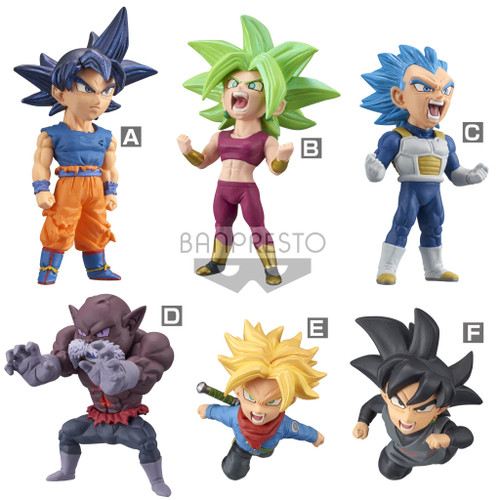 Dragon Ball Super World Figure Colosseum Battle of Saiyans 2.5-Inch Box of 12 PVC Figures [Vol. 6] (Pre-Order ships June)