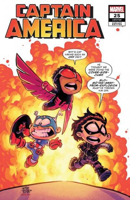 Marvel Captain America, Vol. 9 #25D Comic Book