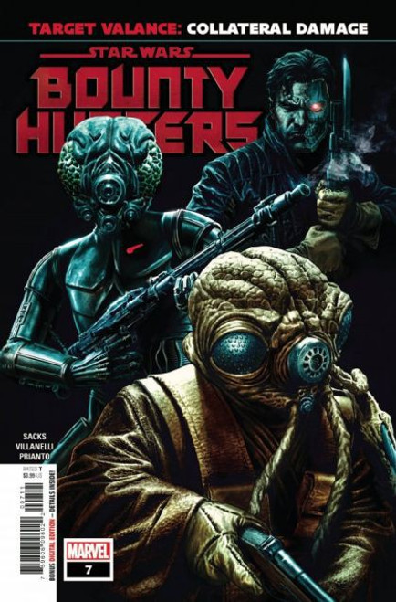 Marvel Star Wars: Bounty Hunters #7A Comic Book