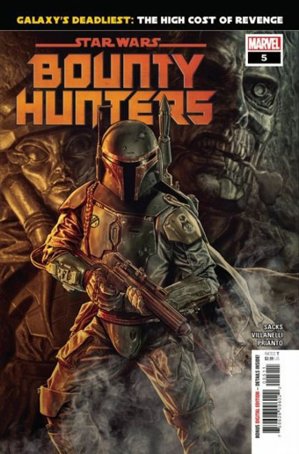 Marvel Star Wars: Bounty Hunters #5A Comic Book