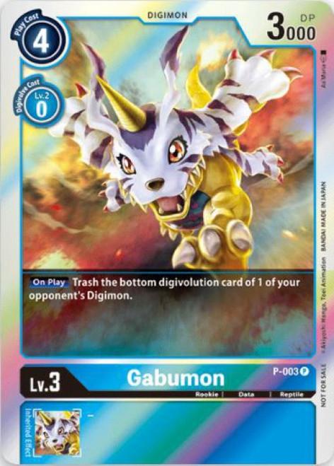 Digimon Trading Card Game Promo Cards Promo Gabumon P-003