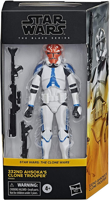 Star Wars The Mandalorian Black Series 332nd Ahsoka's Clone Trooper Exclusive Action Figure