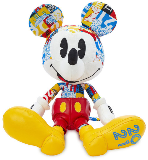 Disney Parks 2021 Mickey Mouse Exclusive 10-Inch Plush