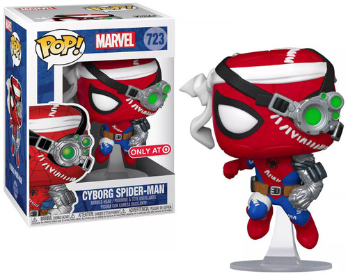 Funko POP! Marvel Cyborg Spider-Man Exclusive Vinyl Figure