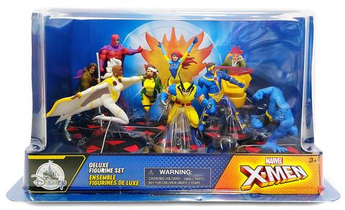 Disney Marvel X-Men Exclusive 9-Piece PVC Figure Play Set