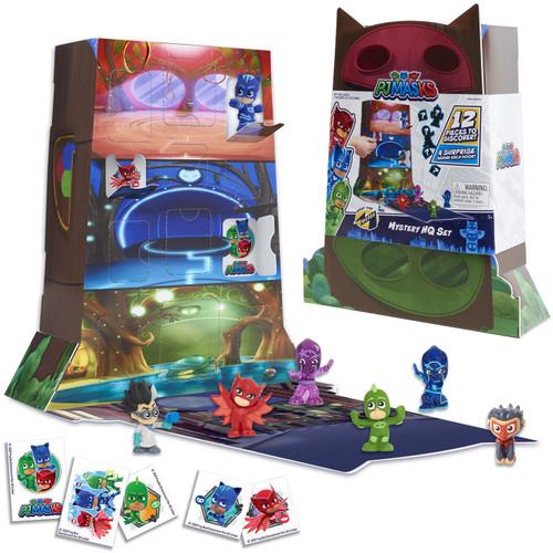 Disney Junior PJ Masks Night Time Micros HQ Set Mystery Box