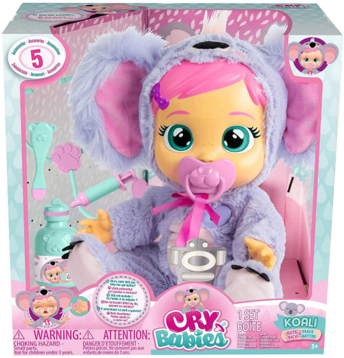 Cry Babies Koali Deluxe Doll