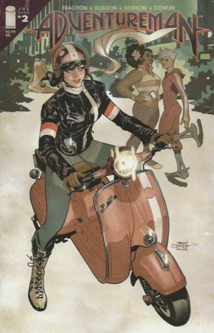 Image Comics Adventureman #2A Comic Book