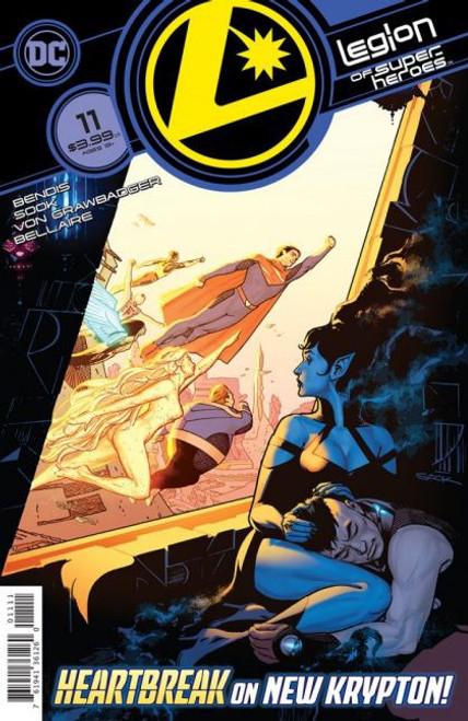 DC Comics Legion of Super-Heroes, Vol. 8 #11A Comic Book